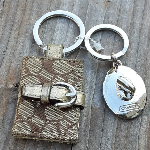 Coach Keychain Lot Wallet Valet